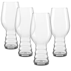 Spiegelau Lead-Free Crystal Beer Classics IPA Glasses, Set of 4