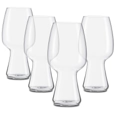 Spiegelau Lead-Free Crystal Beer Classics Stout Beer Glasses, Set of 4