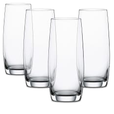 Spiegelau Lead-Free Crystal Festival Longdrink Glasses, Set of 4