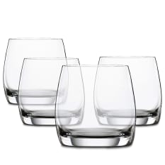 Spiegelau Lead-Free Crystal Festival Whiskey Tumblers, Set of 4
