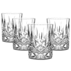 Nachtmann Lead-Free Crystal Noblesse Whiskey Tumblers, Set of 4
