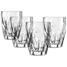Nachtmann Lead-Free Crystal Sphere Whiskey Tumblers, Set of 4