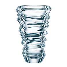 Nachtmann Lead-Free Crystal Slice Glass Vase