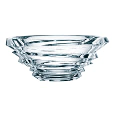 Nachtmann Lead-Free Crystal Slice Glass Bowl