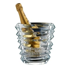 Nachtmann Lead-Free Crystal Slice Glass Champagne Bucket
