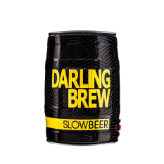 Darling Brew Slow Beer Lager Keg, 5L