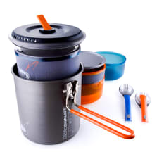 GSI Outdoors Halulite Microdualist Nesting Cooking Set, 1.4L