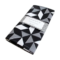 Handmade by me Geometric Tea Towel