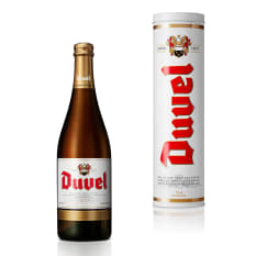 Duvel Blonde Ale with Gift Tin, 750ml