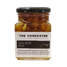 The Cooksister Pear & Walnut Relish, 310g