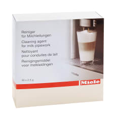 Miele Milk Pipe Cleaning Powder Sachets, Pack of 100