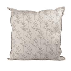 Veldt Hemp Canvas Cushion Cover, 50cm x 50cm