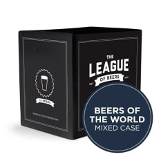 League of Beers Beers of the World Mixed Case