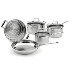 Scanpan Impact 5 Piece Stainless Steel Cookware Set