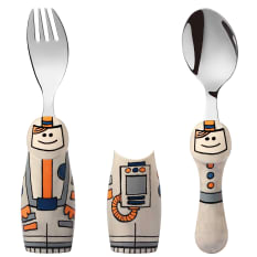 Eat4Fun Kids Cutlery Duo Fork and Spoon Kit, Set of 2
