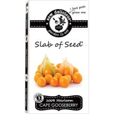 Sow Delicious Gourmet Slab of Seed Cape Gooseberry