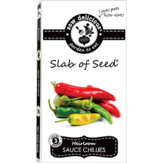 Sow Delicious Gourmet Slab of Seed Sauce Chillies