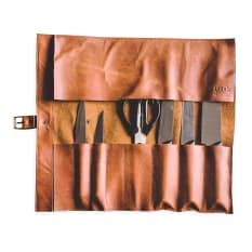 Arrow Leather Goods Knife Roll Bag