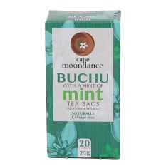 Cape Moondace Buchu Tea with a Hint of Mint