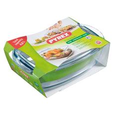 Pyrex Essentials Glass Rectangular Casserole Dish with Lid