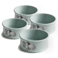 Jamie Oliver Non-Stick Mini Springform Cake Tins, Set of 4