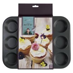 Jamie Oliver Non-Stick Muffin Tin, 12 Holes