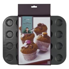 Jamie Oliver Non-Stick Mini Muffin Tin, 24 Holes