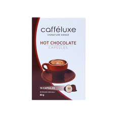 Caffeluxe Hot Chocolate Capsules, Pack of 10