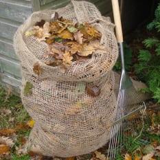 Burgon & Ball Leaf Composting Sacks, Set of 2