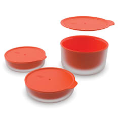 Joseph Joseph M-Cuisine Cool Touch Lidded Bowls, Set of 3