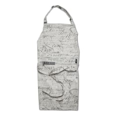 Balducci French Script Full Bib Apron