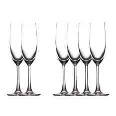 Maxwell & Williams Cosmopolitan Flute Glasses, Set of 6