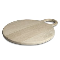 Laid Back Large Round Board with Round Handle