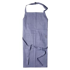 DSA Table Linen Specialists Chef's Check Full Bib Apron