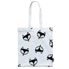 Zana Screen Printed Cotton Fox Tote