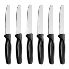 Wusthof Serrated Paring / Steak Knives, Set of 6