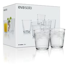 Eva Solo Drinking Glasses, Set of 12