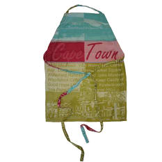African Jacquard Cape Town Full Apron