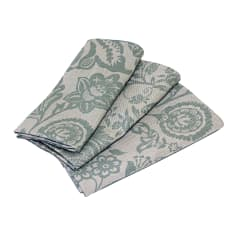 DSA Table Linen Specialists Earth Stone Jacobean Napkins, Set of 6