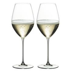 Riedel Veritas Champagne Wine Glasses, Set of 2