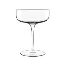 Luigi Bormioli Sublime Saucer Champagne Glasses, Set of 4