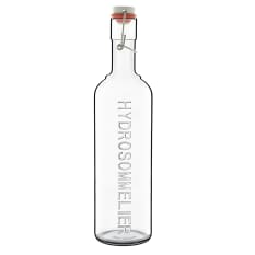 Luigi Bormioli Optima Hydrosommelier Glass Bottle, 1 Litre