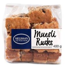 Melissa's Muesli Rusks, 400g