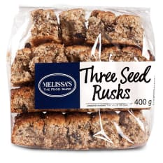 Melissa's Three Seed Health Rusks, 400g