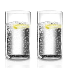 Riedel O Stemless Long Drink Glasses, Set of 2