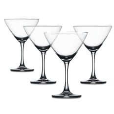 Spiegelau Lead-Free Crystal Cocktail Martini Glasses, Set of 4
