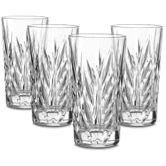 Nachtmann Lead-Free Crystal Imperial Longdrink Glasses, Set of 4