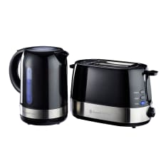 Russell Hobbs Glossy Kettle & 2 Slice Toaster Set