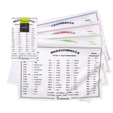 Cooksmart Measurements Tea Towel