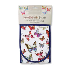 Cooksmart Butterflies Double Oven Glove